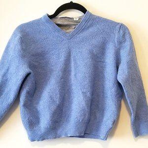 Calvin Klein Baby Merino Wool Baby Blue Sweater